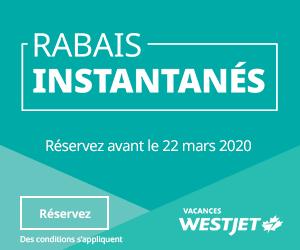 WestJet - Big Box (Newsletter)  March 9 2020
