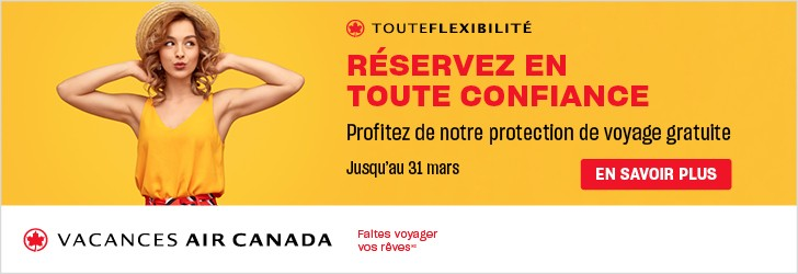 Air Canada Vacations - Footer leaderboard (Newsletter) - March 16 2020