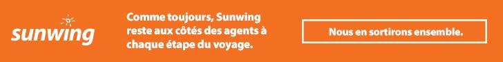 Sunwing - Top banner (newsletter) - March 23 2020
