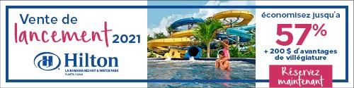 Playa Resorts - Standard banner (newsletter) - Jan 4-10 2021 Hilton