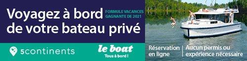 5Continents - Standard Banner (Newsletter) - Feb 10 - 28 2021 LeBoat