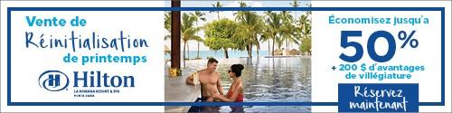 Playa Resorts - Standard banner (newsletter) - May 3 to 16 2021 Hilton