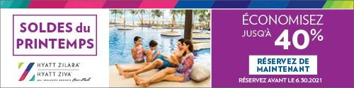 Playa Resorts - Standard banner (newsletter) - June 12-27 2021 Resorts by Hyatt