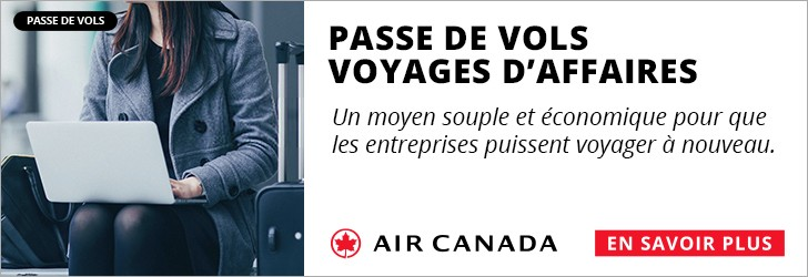 Air Canada - Footer Leaderboard - Newsletter - Sep 20 to Oct 3 BackToBusiness