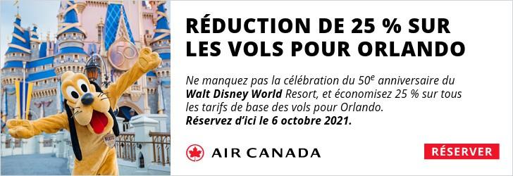 Air Canada - Footer Leaderboard - Newsletter - Oct 4-6 2021 Disney 50