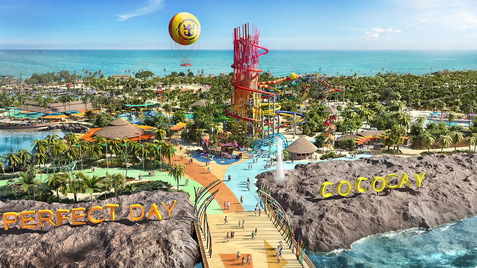 Perfect day of Coco Cay