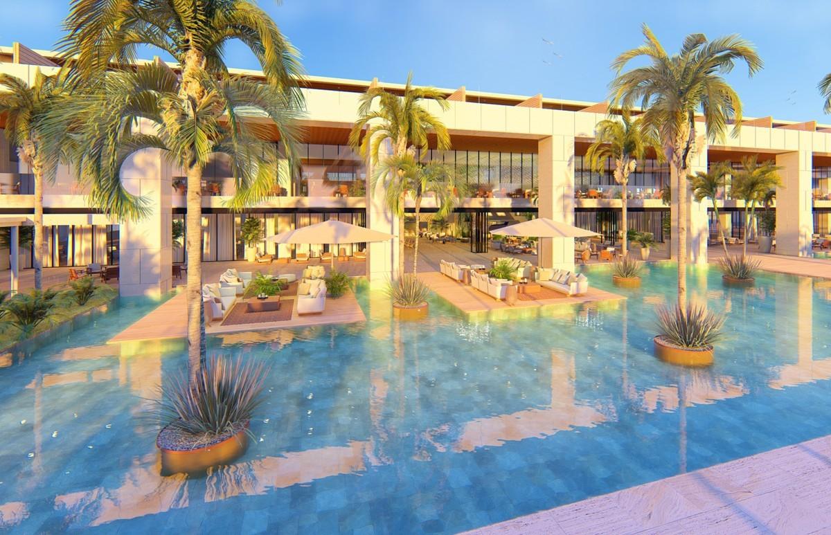 Le Live Aqua Beach Resort Punta Cana et ses piscines.