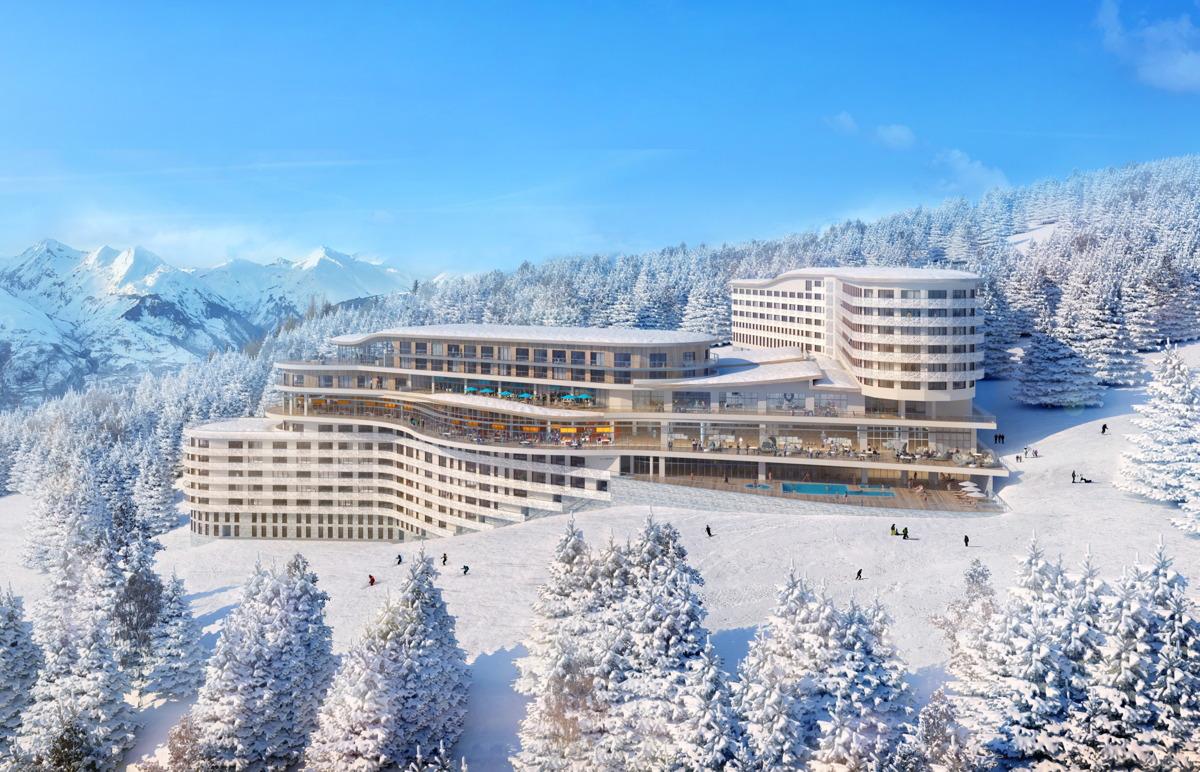 Le Club Med Les Arcs Panorama a ouvert ses portes dans les Alpes françaises en décembre dernier. Photo: Club Med