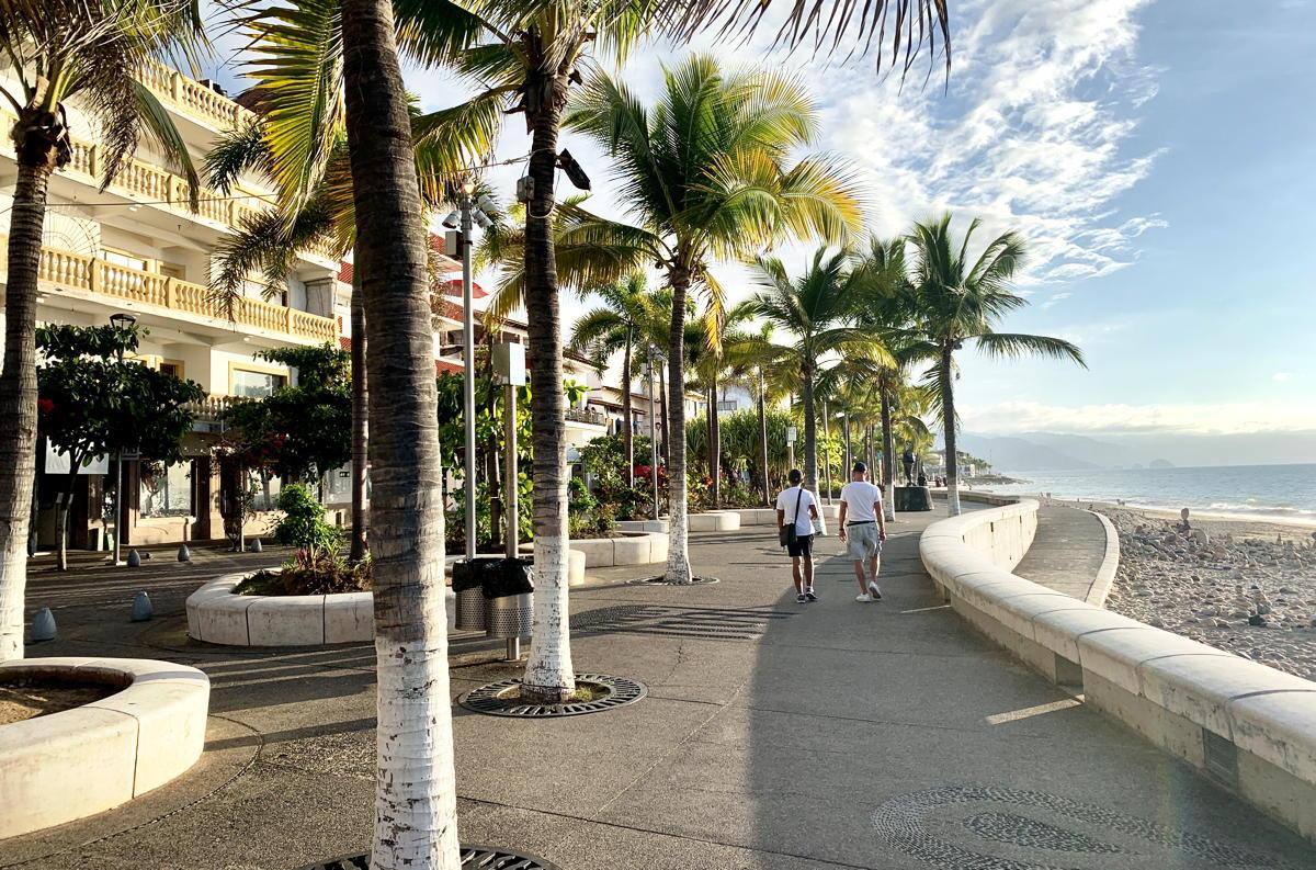 Le Malecón de Puerto Vallarta, une célèbre promenade en bord de mer, est à seulement 10-15 minutes.
