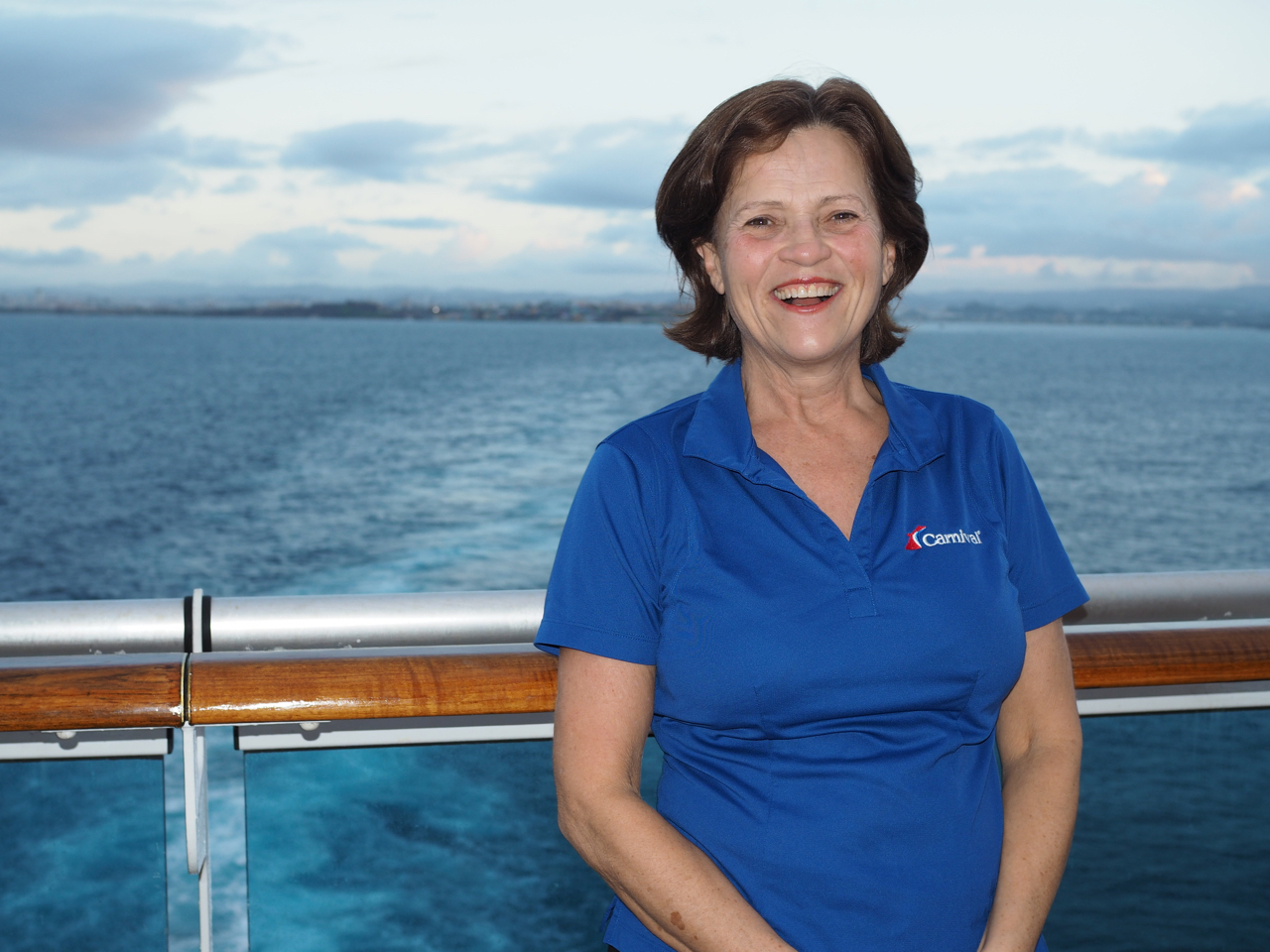 Lynne St-Jean, Director of Business Development for Carnival Cruise Line in Canada