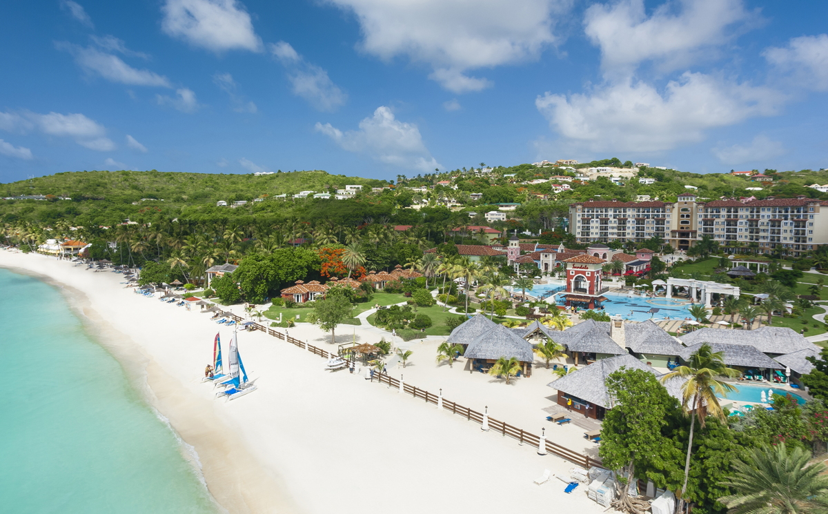 Sandals Grande Antigua. Courtoisie de Sandals Resorts.