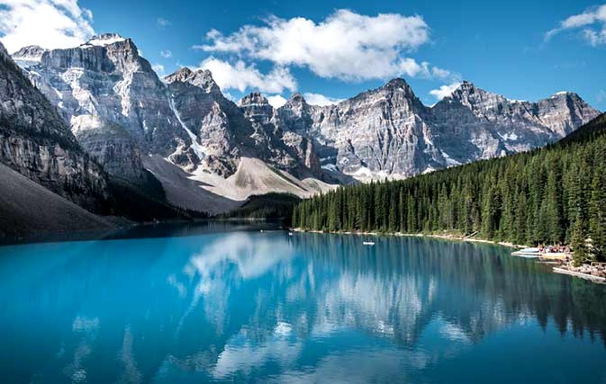 Le parc national de Jasper.