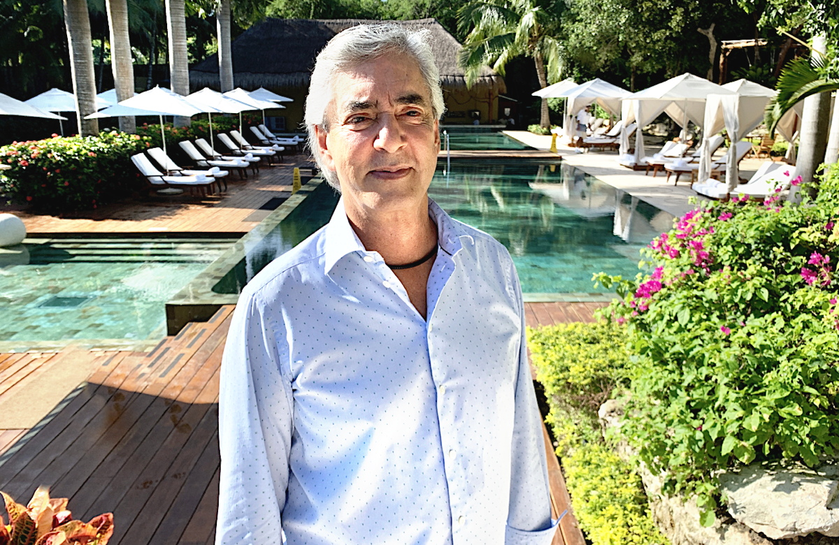 "THE VELAS LIFE: ""You have to live it to believe it,"" said Mr. Juan Vela Ruiz, vice-president of Velas Resorts."