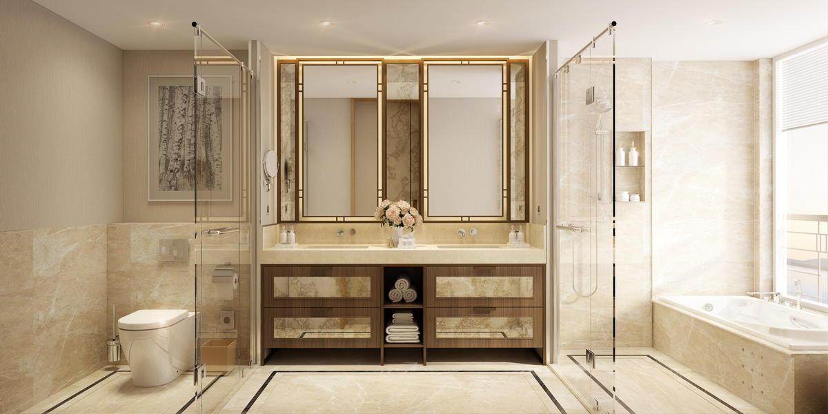 la salle de bain de la suite Explorer.