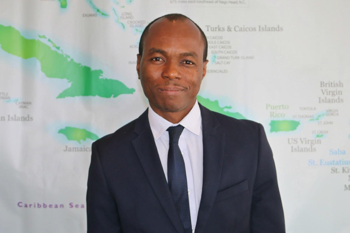 68/5000 Dominic Fedee, président de l'OTC et ministre du Tourisme de Sainte-Lucie