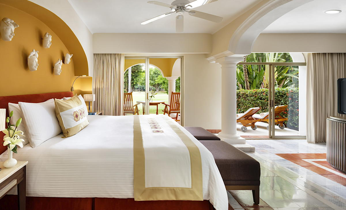 """""""The room layouts are spectacular,"""" Raymond Surette, an advisor with New Wave Travel. (Velas Resorts)"""