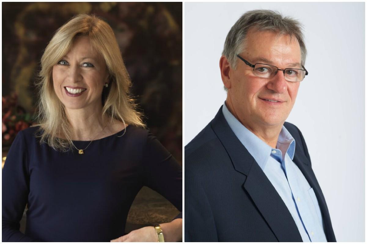 D'AmaWaterways : Kristin Karst, co-fondatrice et vice-présidente exécutive, Rudi Schreiner, co-fondateir et président.