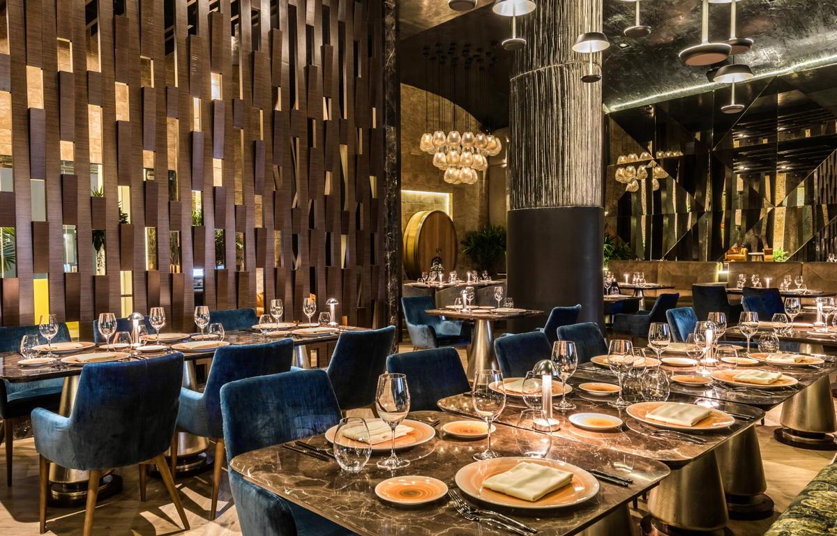 Le restaurant italo-méditerranéen Lucca est l'un des quatre restaurants classés quatre diamants du Grand Velas. (Velas Resorts)