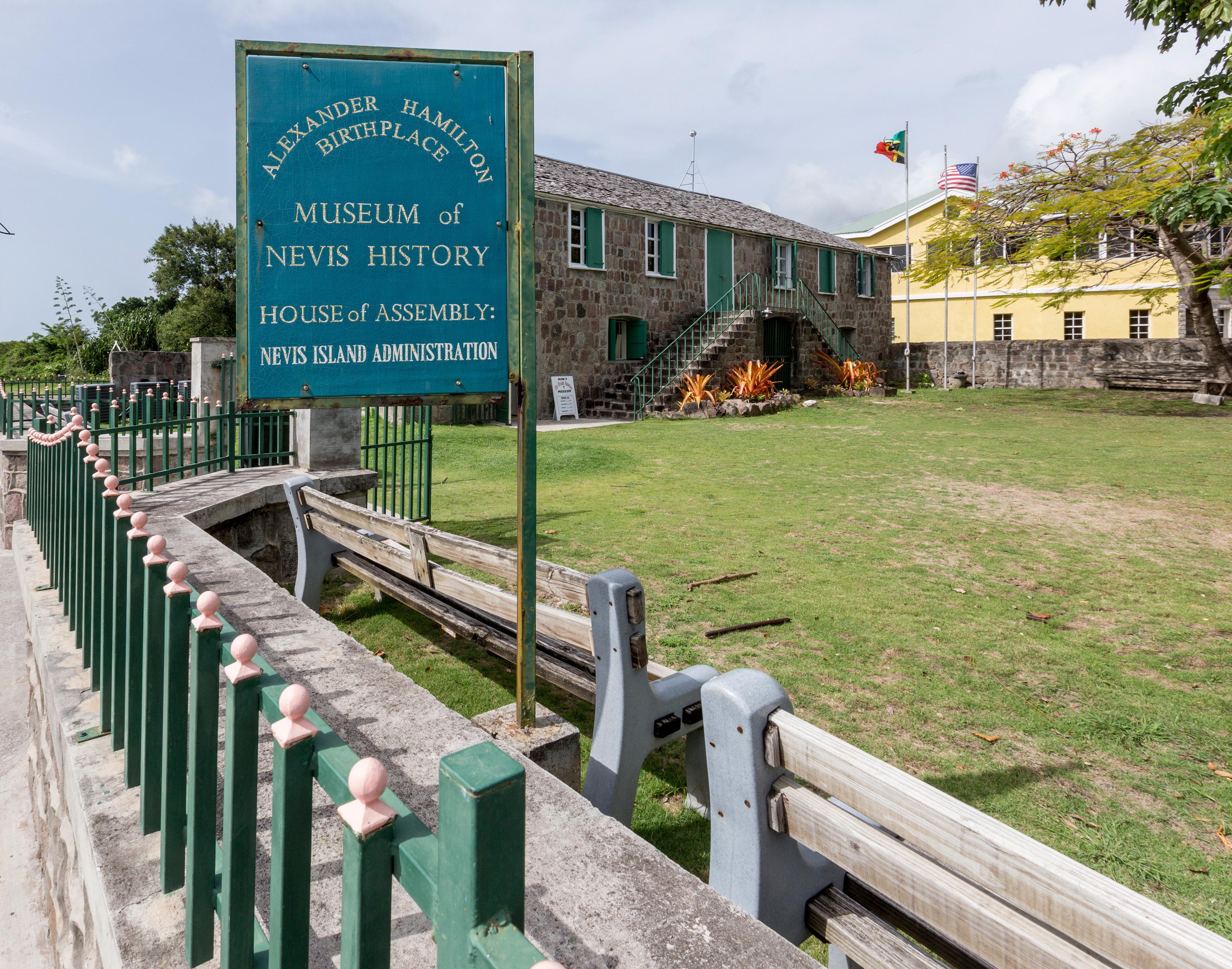 Remontez le temps à l'Alexander Hamilton House, lieu de naissance du père fondateur des États-Unis - et sujet d'une comédie musicale à succès actuelle - Alexander Hamilton (Photo gracieuseté de Nevis Tourism Authority)