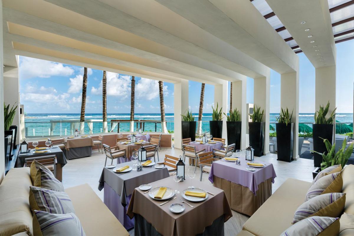 The Italian restaurant Portofino
