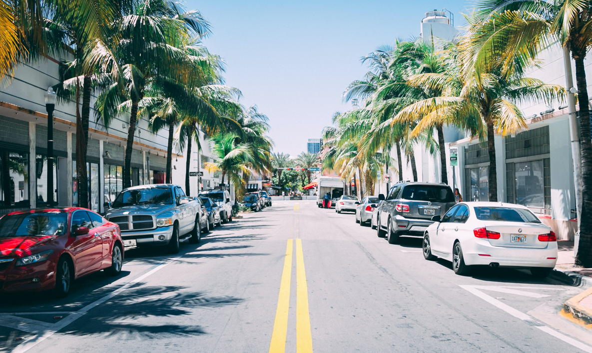 La Floride a signalé 709 144 cas au total de COVID-19. (Ci-dessus: South Beach, Miami)