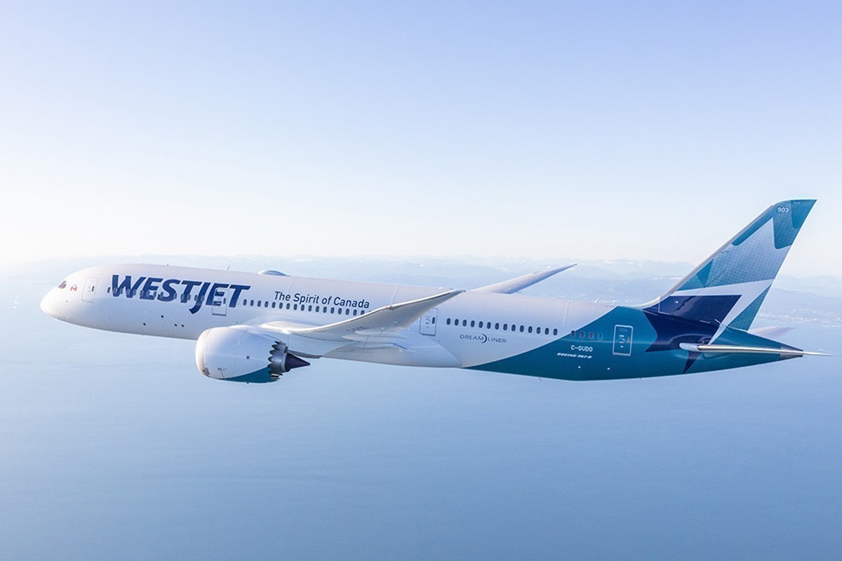 WestJet has agreed to rehire almost 6,400 employees. (Supplied)