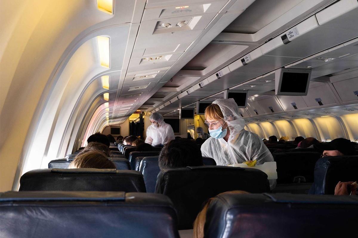 PAX - Les systèmes de circulation d'air des avions limitent la propagation  de la COVID-19