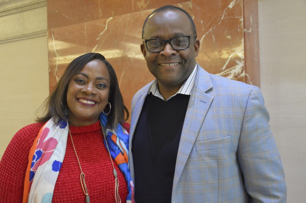 De l'Office du tourisme de la Jamaïque: Angella Bennett, directrice régionale - Canada et Donovan White, directeur du tourisme. (Pax Global Media)