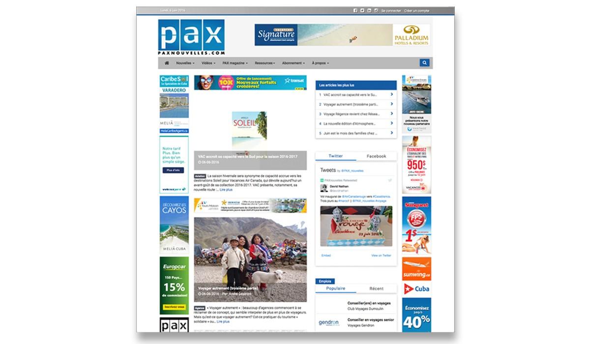PAX se refait une beauté et ajoute de nouvelles fonctionnalités