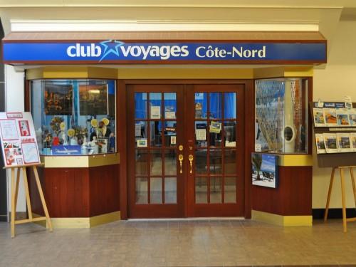 Les agences de la Côte-Nord : Club Voyages Côte-Nord
