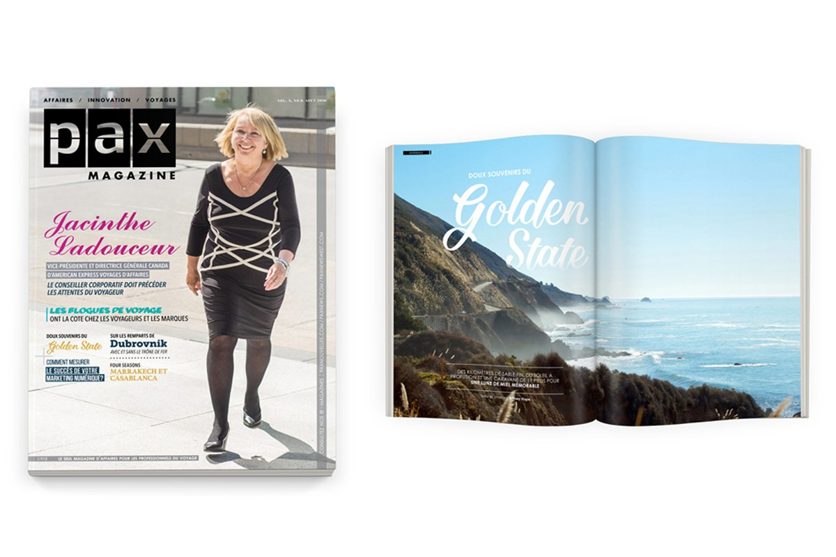 Votre édition d'août de PAX magazine est disponible