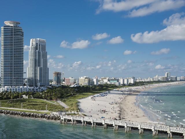 Floride : plus de touristes au premier semestre mais moins de l'étranger