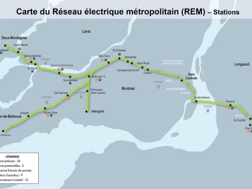 Système léger sur rail à Montréal: des modifications au projet
