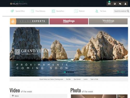 Un nouveau site pour agents chez Velas Resorts