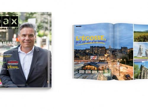 Votre édition de septembre de PAX magazine est disponible