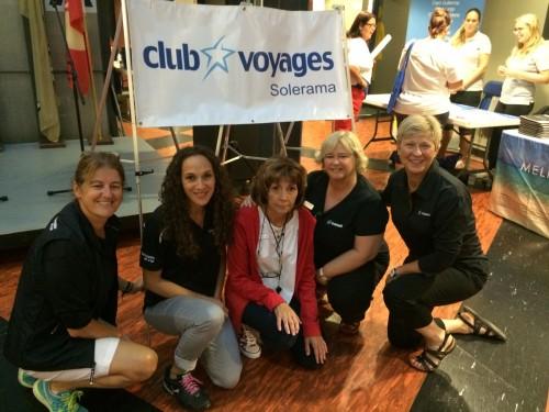 Les étoiles de Club Voyages Solerama brillent au Cosmodôme de Laval