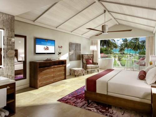 Nouvelles options d'hébergement au Sandals Halcyon Beach Resort & Spa