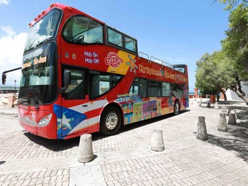 Nouveauté à San Juan: les bus à toit ouvert