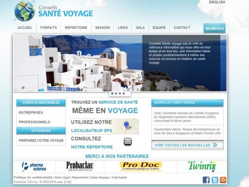 Le portail Conseils Santé Voyage: pour partir informé, protégé et revenir en santé