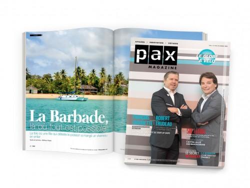 Votre édition d'octobre de PAX magazine est disponible