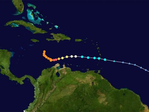 Cuba et les Bahamas dans la mire de l'ouragan Matthew