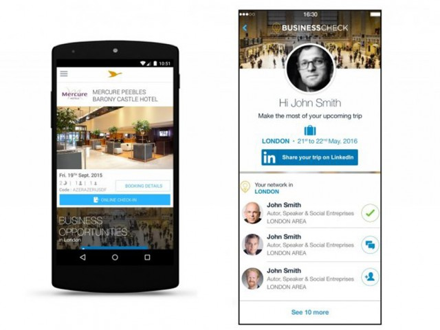 Voyages d'affaires : AccorHotels booste votre réseau avec Business Check powered by LinkedIn