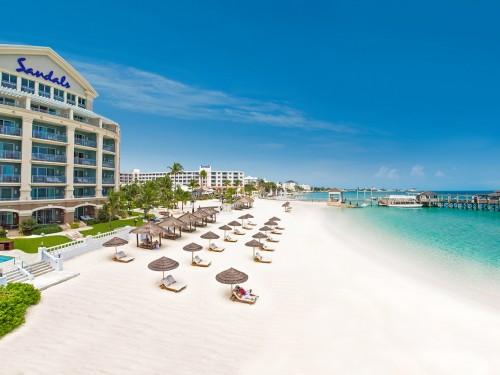 Le Sandals Royal Bahamian rouvre ses portes