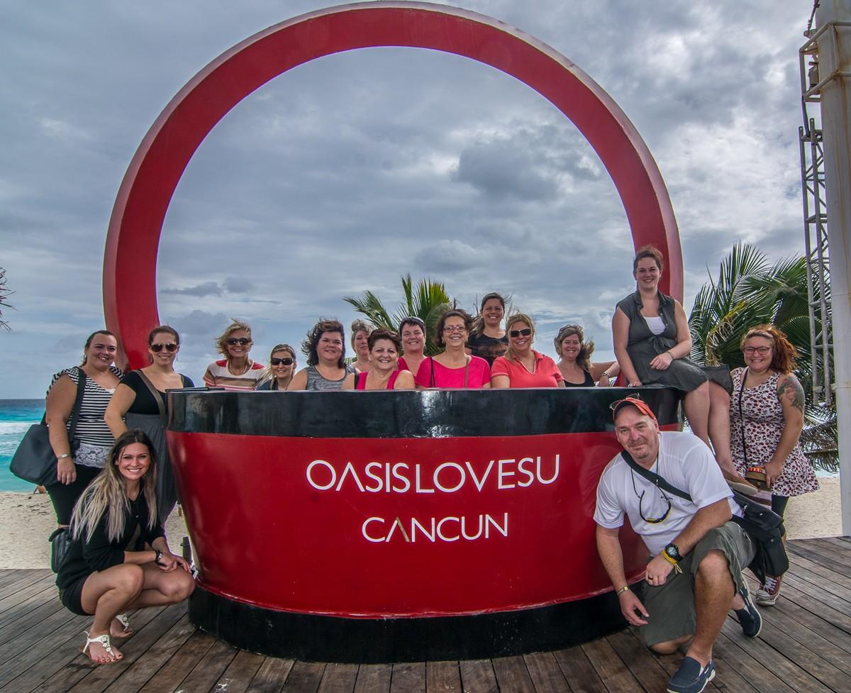 De retour du Mexique avec Oasis Hotels & Resorts