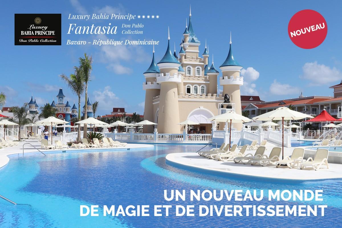 Le Bahia Principe Fantasia Don Pablo Collection : du plaisir pour toute la famille !