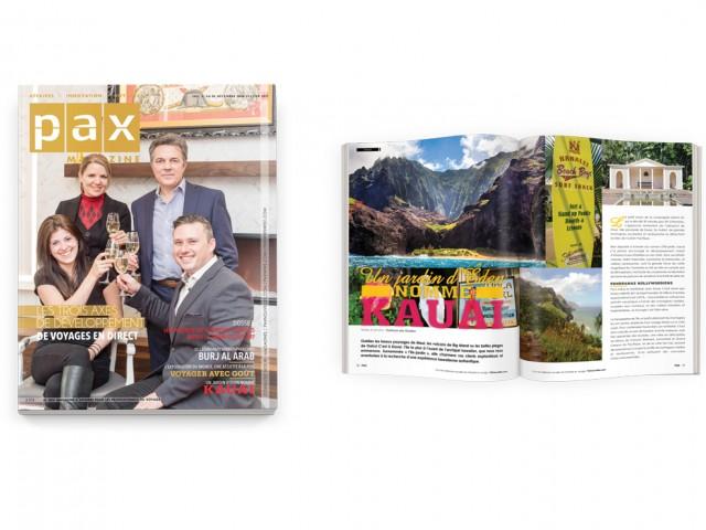 Votre édition de décembre-janvier de PAX magazine est maintenant disponible