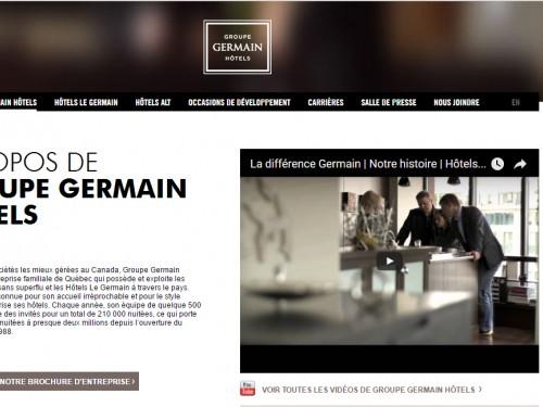 Le Groupe Germain Hôtels : des avantages en réservant…en direct