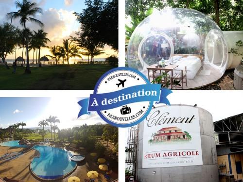 PAX à destination : à la découverte des nouveautés de la Martinique