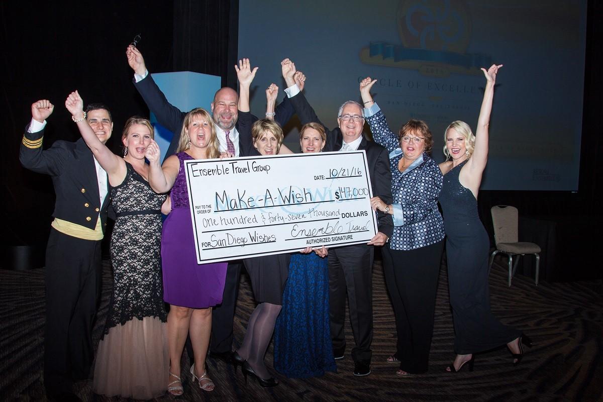 Le Réseau Ensemble fait un don record de 152 000$ à la fondation Make-A-Wish