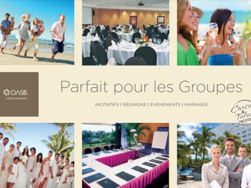 Des offres pour les groupes chez Oasis Hotels & Resorts